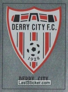 Derry City Badge (Europe's Finest)
