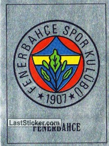 Fenerbahce Badge (Europe's Finest)
