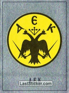 AEK Athens Badge (Europe's Finest)