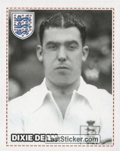 Dixie Dean (England's Early Years)