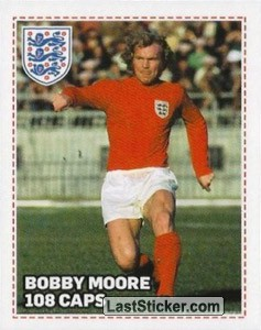 108 - Bobby Moore (Most Caps)