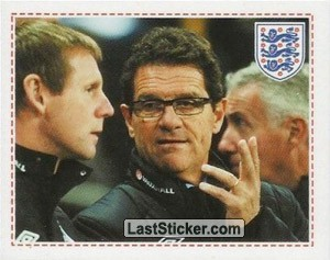 Fabio Capello & Stuart Pearce (The England Team)