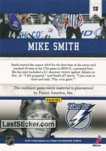 Mike Smith (Tampa Bay Lightning) - Back