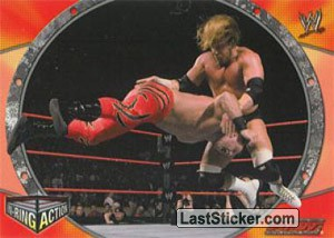 Triple H (IN RING ACTION)