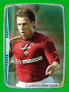 Cassano (Top Players Serie A (Attaccanti))