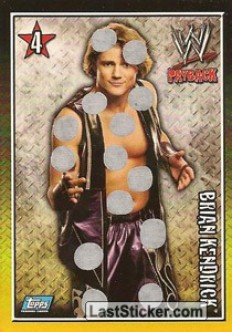Brian Kendrick WWE Tag Team Champion (BODY-BLOW CARDS)