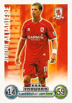 Jeremie Aliadiere (Middlesbrough)