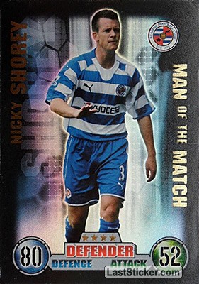 Nicky Shorey (Reading)