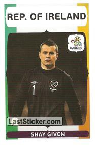 Shay Given (Groupe Stage C   ITA - IRL)