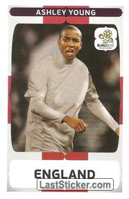 Ashley Young (Groupe Stage D   ENG - UKR)
