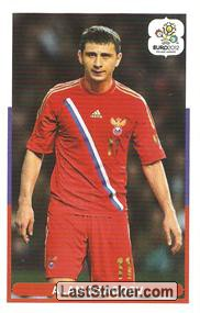 Alan Dzagoev (Groupe Stage A   RUS - CZE)