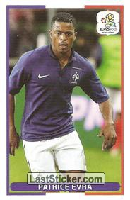 Patrice Evra (Groupe Stage D   FRA - ENG)