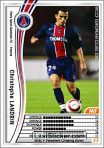 Christophe Landrin (Paris Saint-Germain FC)