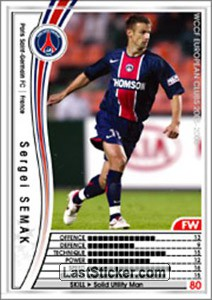 Sergei Semak (Paris Saint-Germain FC)