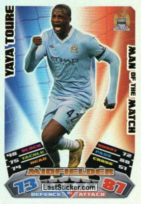 Yaya Toure (Manchester City)