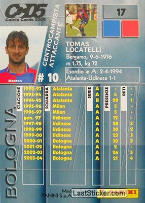 Tomas Locatelli (Bologna) - Back