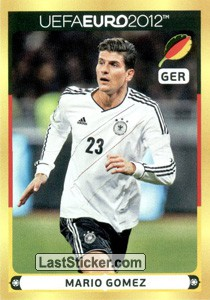 Mario Gomez (Player Sticker)