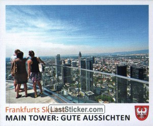 Main Tower: gute Aussichten (Frankfurts Skyline)
