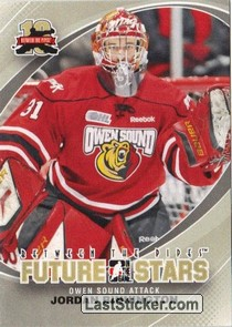 Jordan Binnington (Future Star - CHL)