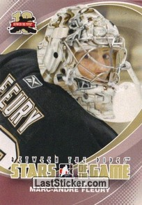 Marc-Andre Fleury (Stars of the Game)
