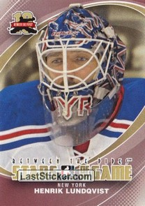 Henrik Lundqvist (Stars of the Game)