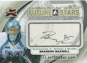 Brandon Maxwell (Future Star - CHL)