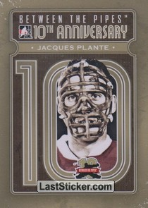 Jacques Plante (10th Anniversary)