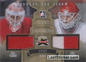 Mike Vernon / Chris Osgood (Cup Tandems)