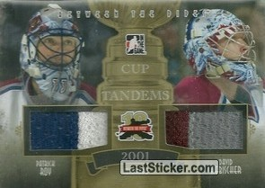 Patrick Roy / David Aebischer (Cup Tandems)