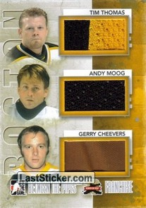 Tim Thomas / Andy Moog / Gerry Cheevers (Franchise)