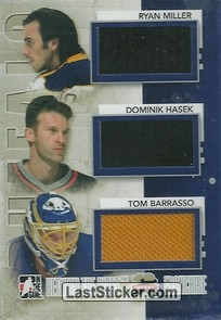 Ryan Miller / Dominik Hasek / Tom Barrasso (Franchise)