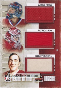 Carey Price / Patrick Roy / Rogie Vachon (Franchise)