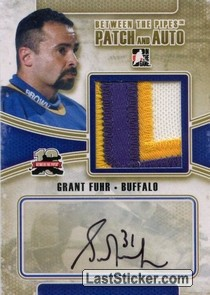 Grant Fuhr (Game-Used Patch&Auto)