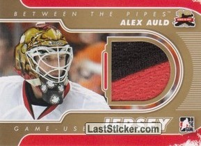 Alex Auld (Game-Used Jersey)
