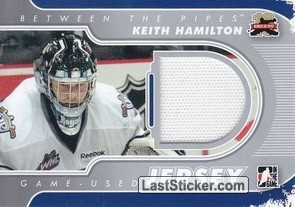 Keith Hamilton (Game-Used Jersey)