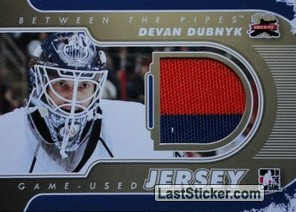 Devan Dubnyk (Game-Used Jersey)