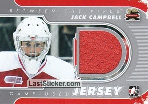 Jack Campbell (Game-Used Jersey)