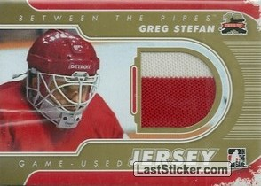 Greg Stefan (Game-Used Jersey)