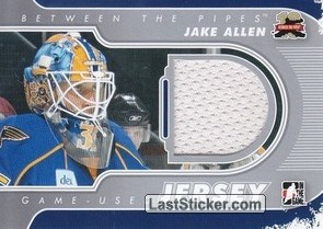 Jake Allen (Game-Used Jersey)