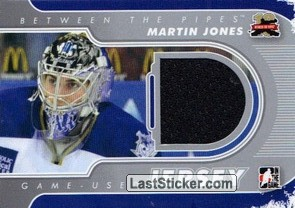 Martin Jones (Game-Used Jersey)