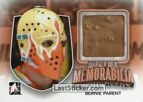 Bernie Parent (Masked Men Memorabilia)