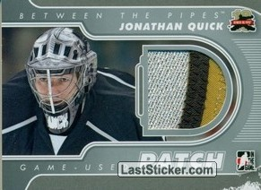Jonathan Quick (Game-Used Patch)