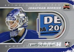 Jonathan Bernier (Game-Used Patch)