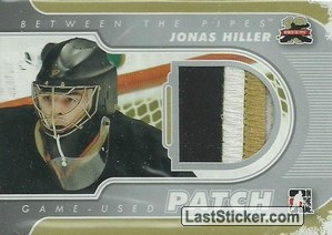 Jonas Hiller (Game-Used Patch)