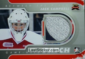Jack Campbell (Game-Used Patch)
