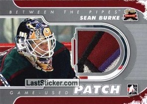 Sean Burke (Game-Used Patch)