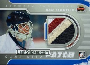 Dan Cloutier (Game-Used Patch)