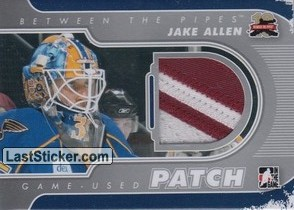 Jake Allen (Game-Used Patch)