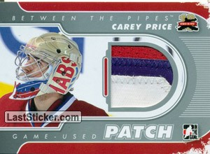 Carey Price (Game-Used Patch)