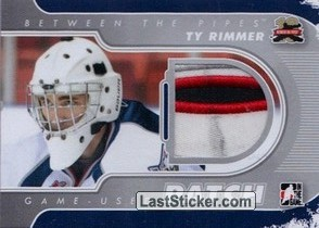 Ty Rimmer (Game-Used Patch)